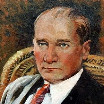 Mustafa Kemal Ataturk - I by Chris Duke
