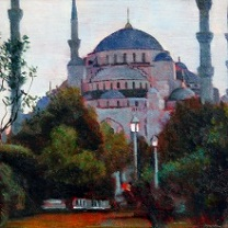 Blue Mosque by Chris Duke