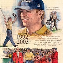 Davis Love III by Chris Duke