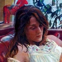 Julia Reading by Chris Duke