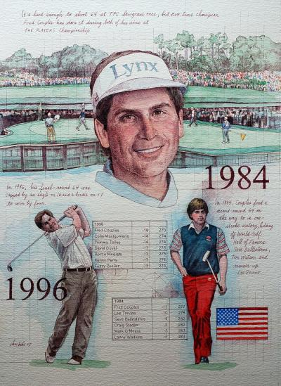 Fred Couples by Chris Duke