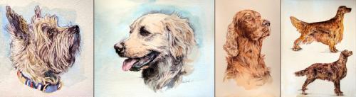 2014 Art Show at the Dog Show - Chris Duke