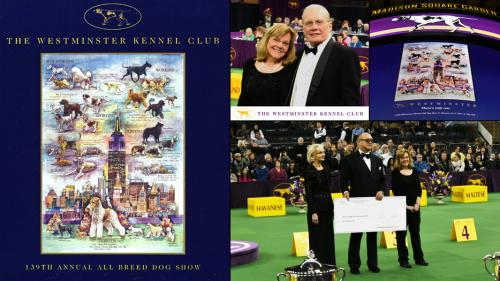 At the 2015 Westminster Dog Show - Chris Duke