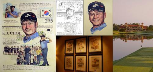 K.J. Choi, PLAYERS Portrait - Chris Duke