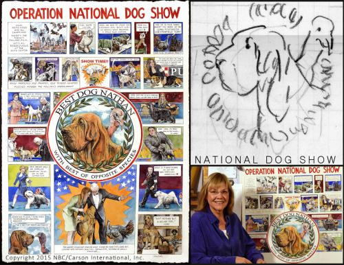 2015 National Dog Show Unofficial Poster - Chris Duke
