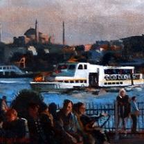 White Steamboat by Chris Duke