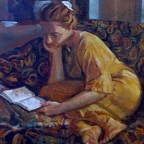 Inga Reading - IV by Chris Duke