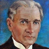 Mustafa Kemal Ataturk - II by Chris Duke