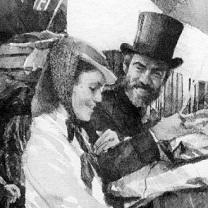 Jo and Mr. Bhaer, Little Women by Chris Duke