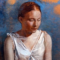 Mary in Contemplation by Chris Duke