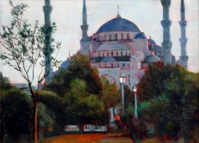 Blue Mosque by Chris Duke
