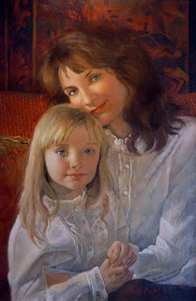 Judy and Lauren Ducci by Chris Duke