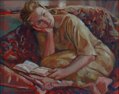 Inga Reading - III by Chris Duke