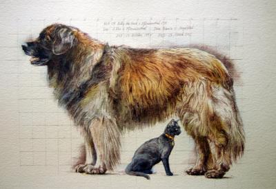 Yoshka and Stormy by Chris Duke