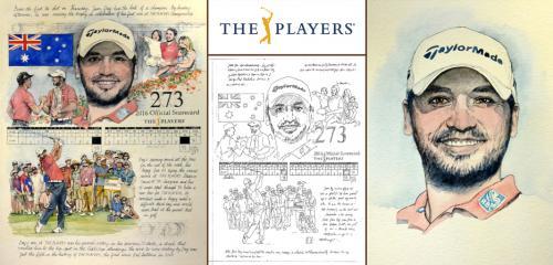 Jason Day, PLAYERS Portrait - Chris Duke