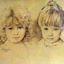 Torie and Cassie Duke by Chris Duke